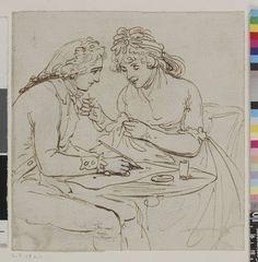 Happy couple 18th century