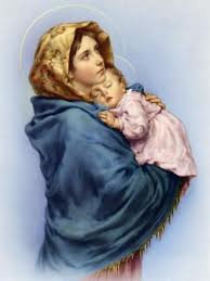 Blessed Mother Mary and Jesus