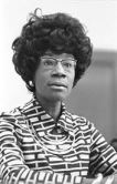 Shirley Chisholm - radical, second-wave feminist