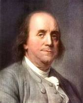 Benjamin Franklin (1706-1790) - one of America's Founding Fathers, inventor, author, printer, politician, post master, diplomat, satirist, musician,  scientist, political theorist and civil activist.