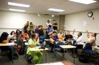 classroom unruly