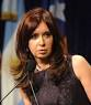 Cristina Krichner, 60, President of Argentina
