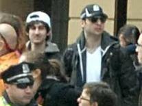 Dzohkar on left and Tamerlan on right