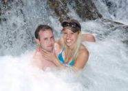 Blonde Jodi Arias and boyfriend Travis Alexander