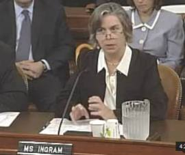 Ms. Sarah Hall Ingram -former IRS Commissioner in charge of tax-exempt office