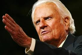 Rev. Billy Graham, 97 -  Christian Evangelist