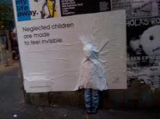 neglected children poster