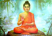 Buddha (Siddhartha Guatama) - an Indian prince who lived in Nepal  5th and 6th century B.C. who chose to live an ascetic life of reflection.