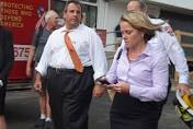 N. J. Gov. Chris Christie and Deputy Chief of Staff Bridget Anne Kelly