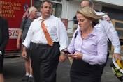 N. J. Gov. Chris Christie and Deputy Chief of Staff Bridget Anne Kelly