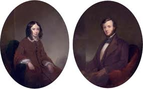 Robert (1812-1889) and Elizabeth Barrett (1806-1861) Browning - Foremost Victorian Poets