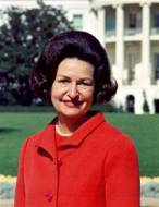 Lady Bird Johnson (1912-2007) - First Lady of United States from 1963-1969.