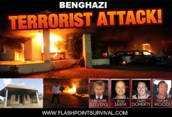 U. S. Ambassador to Libya Chris Stevens and 3 others killed at U. S. Embassy in Benghazi by muslims