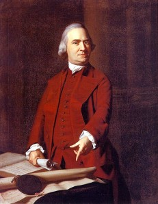Massachuetts Governor Samual Adams (1722-1803) - Founding Father of the United States of America