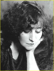 Sidonie-Gabrielle Colette (1873-1954) - French Novelist (Gigi) and Performer.