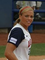 Jennie Finch, 33 - Christian, Married Mother of Three and Two-Time Olympic Women's Softball Champ.