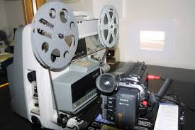 8 Millimeter movie camera