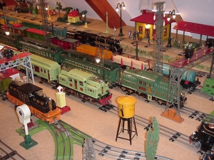 Standard gauge layout