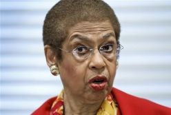 Congresswoman Eleanor Holmes Norton, 77, - Democrat, non-voting, representative to the House of Representatives from the  District of Columbia or Washington,DC