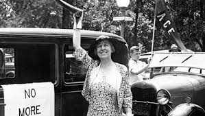 Jeanette Pickering Rankin (1880-1973) - (R) Montana - First Woman Elected to Congress, 1916.