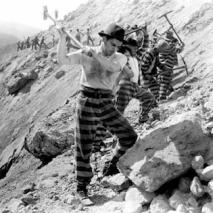 Prisoners breaking rocks