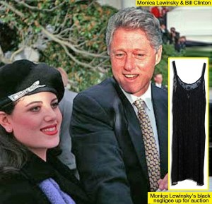 Pres. Bill Clinton and non-Christian Monica Lewinsky