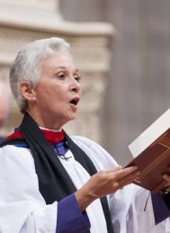 Gina Gilland Campbell, 58, Named Worship Director of the National Cathedral in Washington, DC in September 2013