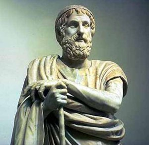 "Homer - Lived in 800 BC - Ancient Greek Poet and Author of ""Illiad and the Odyssey"""