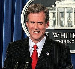 Tony Snow -(1955-2008) - Christian, Journalist, Political Commentator, Radio Host, Syndicated Columnist, Musician and White House Press Secretary under Pres. Geo. W. Bush