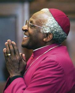 Desmond Tutu, 83 - Archbishop of the Anglican Church of South Africa and Social Rights Activist