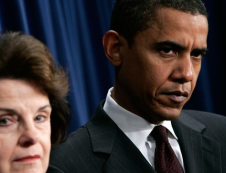 Dianne Feinstein and Obama
