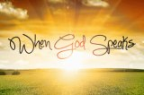 """Prayer – """"Imagine God Speaking"""" byAnonymous"""