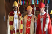 Bishop Sutton, Bishop Cook and Bishop Jefferts Schori