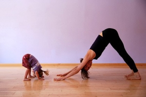 kids imitating
