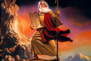 10 Commandments and Moses