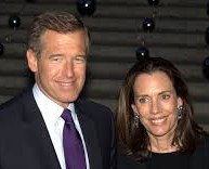 Brian Williams and his wife Jane