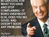Quote: Zig Ziglar on the Source of Stress