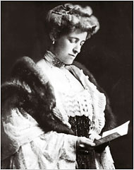 Edith Wharton (1862-1937) - American Novelist, Short Story Writer and Winner of Pulizer Prize and 3-Time Nominee for Nobel Prize in Literature