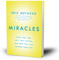 Eric Metaxas Miracles Book cover