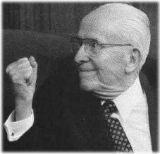 Ezra Taft Benson (1899-1994) - Farmer, Religious Leader, U. S. Secretary of Agriculture (1953-1961) and 13th President of the Church of Jesus Christ of Latter-day Saints (1985-1994).