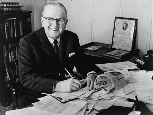 Norman Vincent Peale (1898-1993) - Reformed Church Of America Minister Based at Marble Colliegiate Church in Manhattan