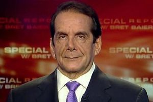 Charles Krauthammer, 65 - Author, Political Commentator, Syndicated Columnist and  Pulitzer Prize Recipient