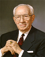Gordon B. Hinckley (1910-2008) - 15th President of the Church of Jesus Christ of Latter-day Saints and Author