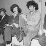 Jerry Rubin and Abbie Hoffman