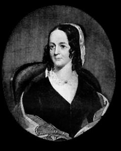 "Sarah Josepha Hale (1788-1897) - American Writer. She wrote ""Mary Had a Little Lamb."""