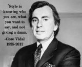 Quote: Gore Vidal on TV is Terrible