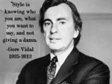 Quote: Gore Vidal on TV isTerrible