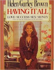Cosmo - Having it all - Gurley Browns book
