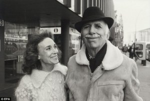 Helen Gurley Brown and husband David Brown