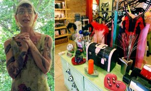 Starri Hedges and Smitten Kitten Store